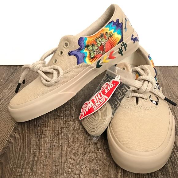 Vans Era Desert Embellished Tan Skate